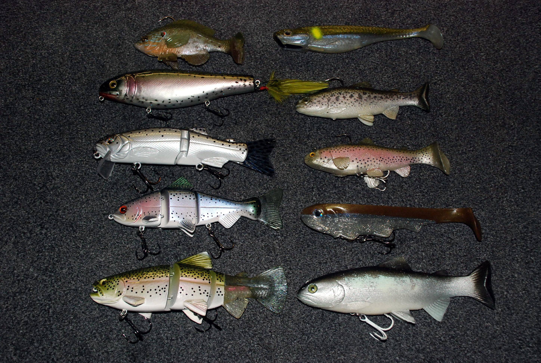 Swimbait fishing lures for Bass fishing swimbaits