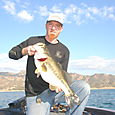10 lb bass Lake Berryessa
