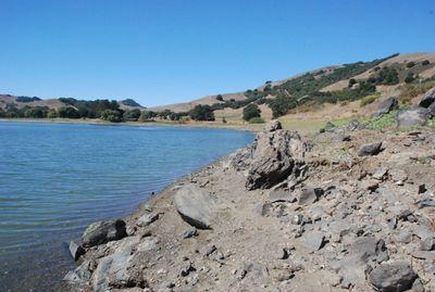 low water lake