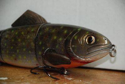 JSJ Baits 10 inch trout