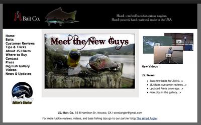 JSJ Baits web site