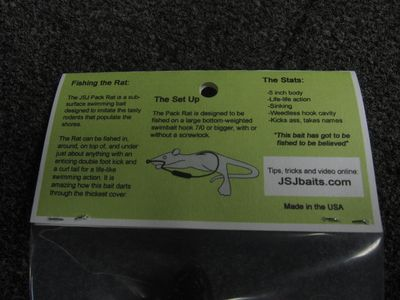 Rat in package 005